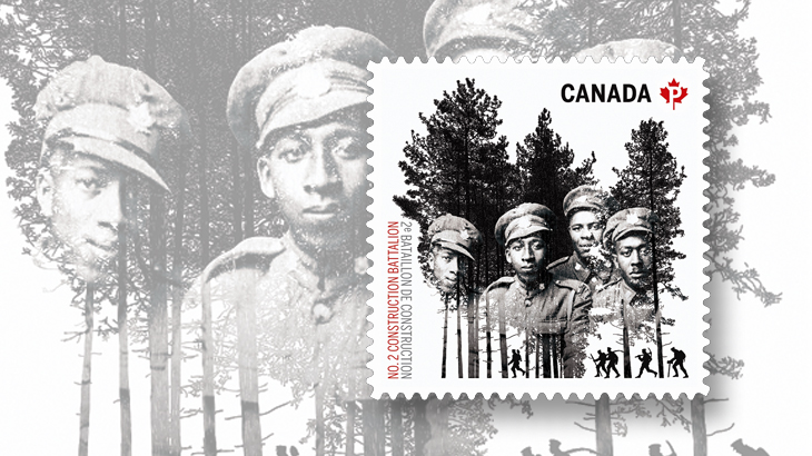 Canada Post Salutes Black History Month with WW1 Postage Stamp - Issued February 1, 1916