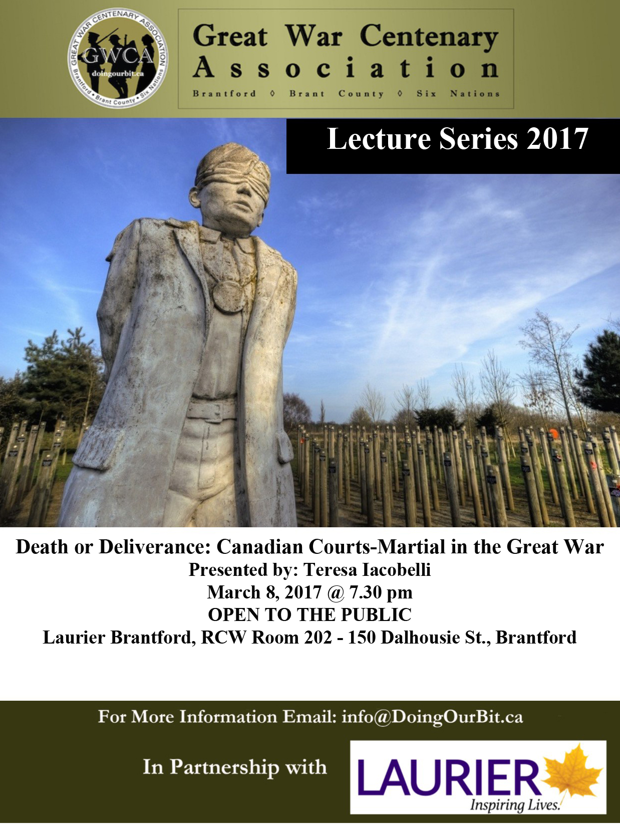 Teresa Iacobelli - Death or Deliverance, Canadian Courts-Martial during the First World War
