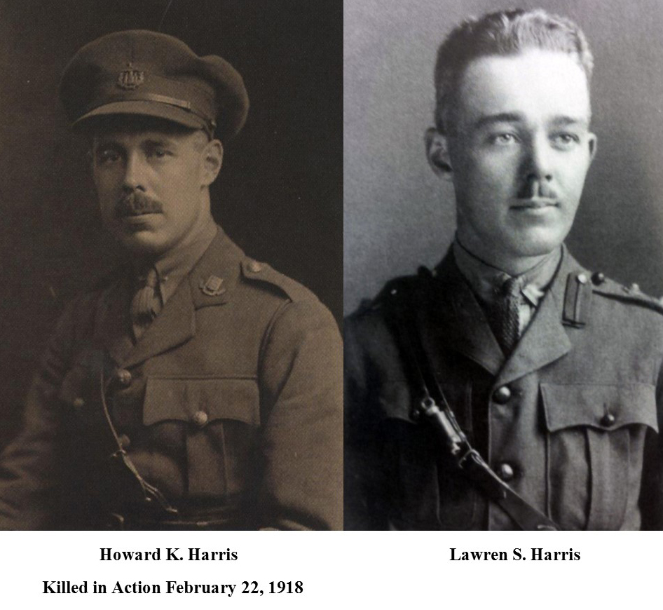 Howard K. Harris and Lawren S. Harris.  Lawren Harris Week, Brantford, Ontario