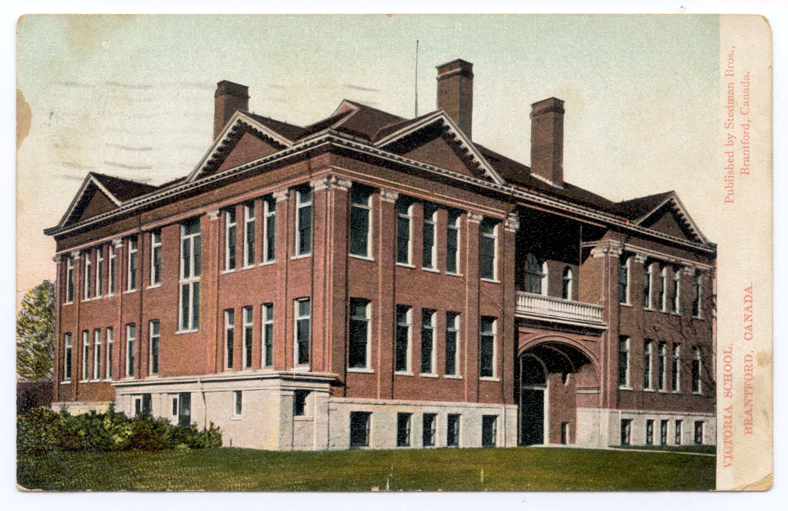 Victoria Public School, Brantford, Ontario - First World War Roll of Honour