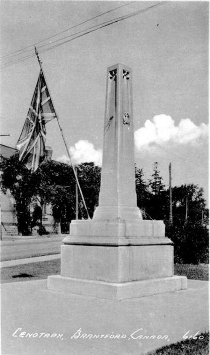 IODE-Cenotaph Brantford