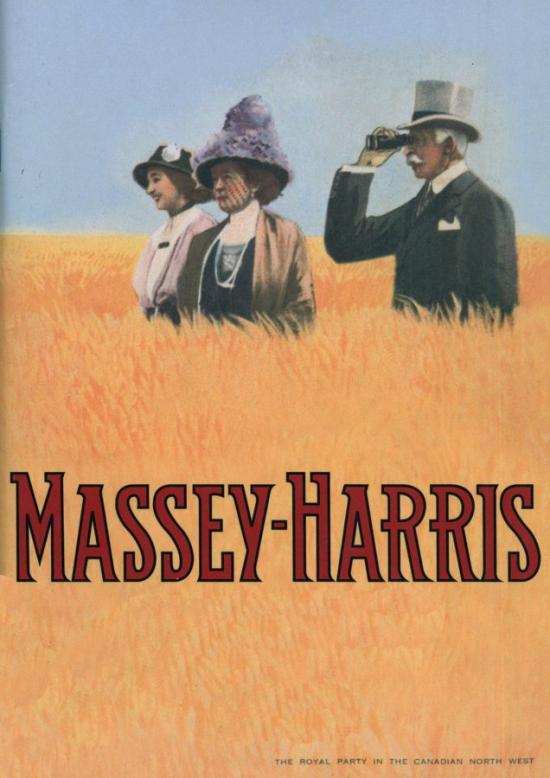Massey Harris 1914 poster