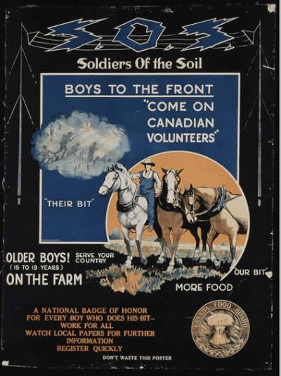 soldiers of the soil poster