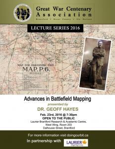 First World War Battlefield Mapping