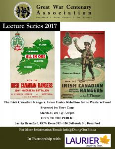 Doing Our Bit - Irish Canadian Rangers