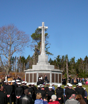 The Halifax Memorial at Point Pleasant