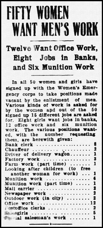 Brantford WWI article March 30th, 1916